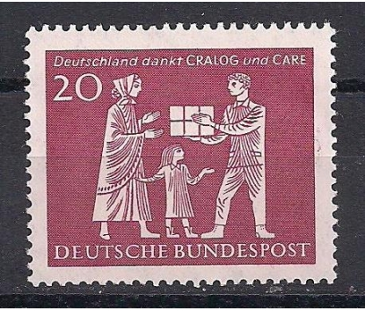 1963 Almanya Cralog ve Bakım Damgasız**