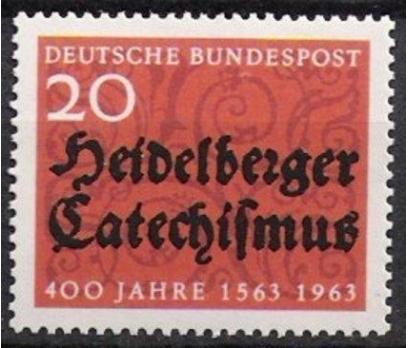 1963 Almanya Heidelberger İlmihali Damgasız**