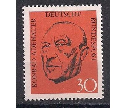1968 Almanya Konrad Adenauer Damgasız**