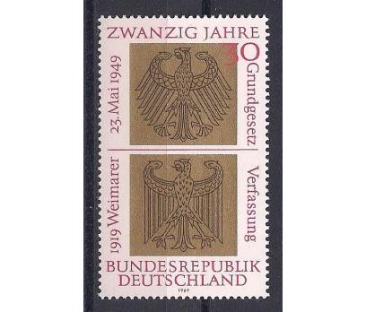 1969 Almanya Cumhuriyetin 20. Yılı Damgasız**