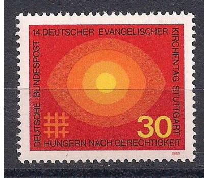 1969 Almanya Evangelik Günü Damgasız**