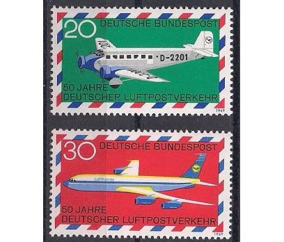 1969 Almanya Havacılık Damgasız**