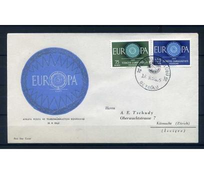 CUMH.FDC  1960  EUROPA CEPT SÜPER(300415)