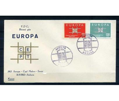 CUMH.FDC  1963 EUROPA CEPT KAMER