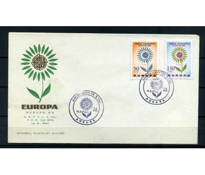 CUMH.FDC  1964  EUROPA CEPT İSTANBUL F. K.