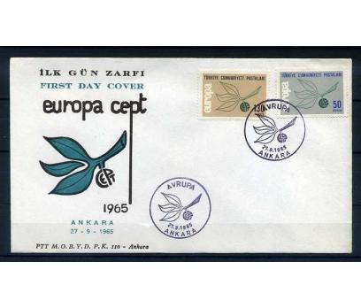 CUMH.FDC  1965 EUROPA CEPT SÜPER
