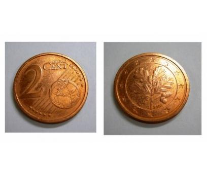 D&K-ALMANYA 2 EURO CENT 2003/G YILI BRONZ