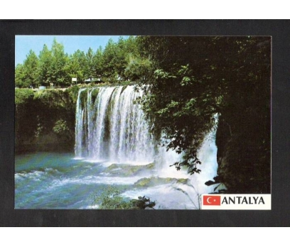 D&K-ANTALYA DÜDEN ŞELALESİ-KARTPOSTAL.