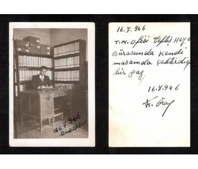 D&K-T.M.OFİSİ MEMURU 1946 YILI-FOTOGRAF