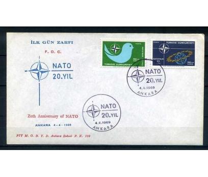 CUMH.FDC  1969 NATO'NUN 20.YILI  SÜPER