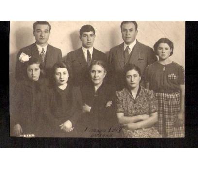 D&K-ANKARALI BİR AİLE 1943 YILI-FOTOGRAF