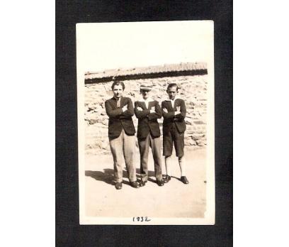 D&K- ESKİ KIYAFETLİ ÖĞRENCİLER 1932 FOTOGRAF