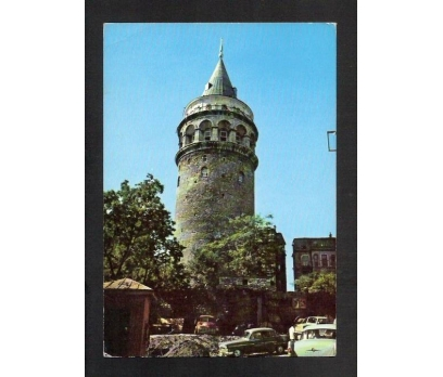 D&K-İSTANBUL GALATA KULESİ KARTPOSTAL