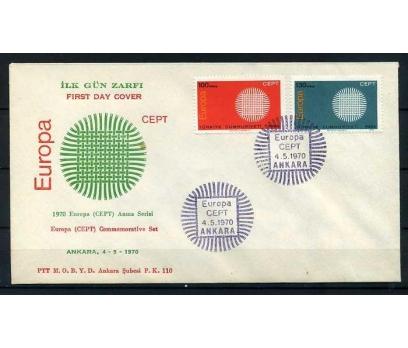 CUMH.FDC  1970 EUROPA CEPT SÜPER