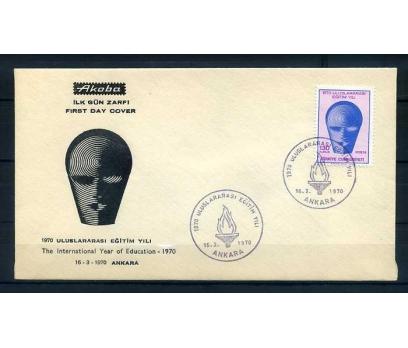 CUMH.FDC 1970 ULUSLARARASI EĞİTİM YILI AKOBA