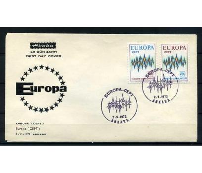 CUMH.FDC 1972 EUROPA CEPT AKOBA