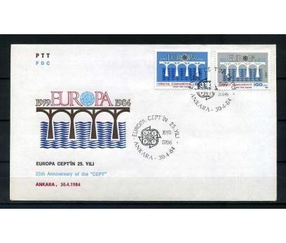 CUMH.FDC 1984 EUROPA CEPT  SÜPER