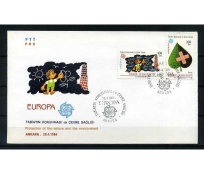 CUMH.FDC 1986 EUROPA CEPT SÜPER