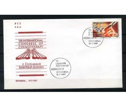 CUMH.FDC 1987 15.U.KEMOTERAPİ KONGRESİ SÜPER