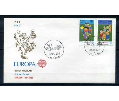 CUMH.FDC 1989 EUROPA CEPT  SÜPER