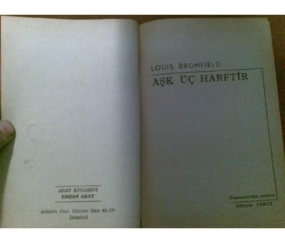 AŞK ÜÇ HARFTİR 1968