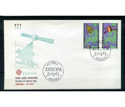 CUMH.FDC 1991 EUROPA CEPT SÜPER