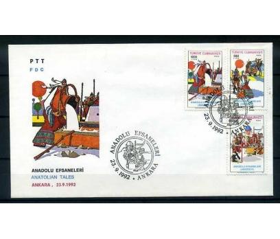 CUMH.FDC 1992  ANADOLU EFSANELERİ  SÜPER 1