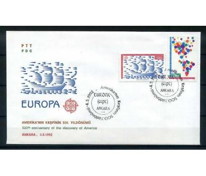 CUMH.FDC 1992 EUROPA CEPT SÜPER