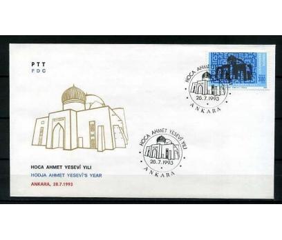 CUMH.FDC 1993 HOCA AHMET YESEVİ YILI  SÜPER