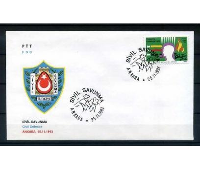 CUMH.FDC 1993 SİVİL SAVUNMA SÜPER