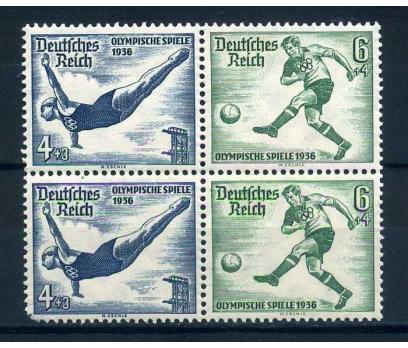 REİCH  ** 1936  FUTBOL & ATLAMA  DÖRTLÜ 1