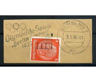 REİCH  1936 OLİMPİYAT DAMGALI FRAGMAN