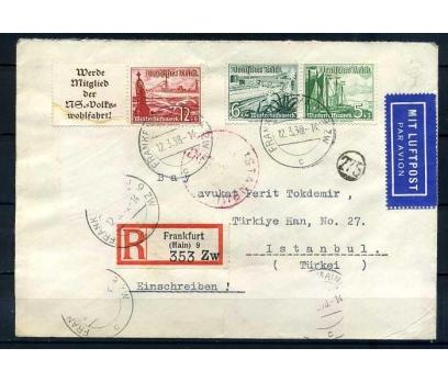 REİCH 1938 GEMİLER TEMALI PULLARLA  PG  SÜPER
