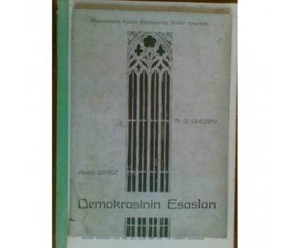 DEMOKRASİNİN ESASLARI A.D. LINDSAY