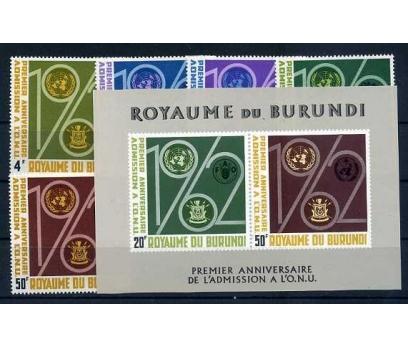 BURUNDİ  **  1963  FAO TAM SERİ VE BLOK SÜPER