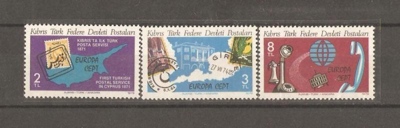 1979 DAMGASIZ KIBRIS CEPT SERİSİ 1