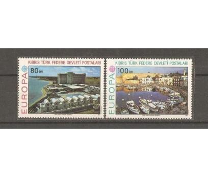 1977 DAMGASIZ KIBRIS CEPT SERİSİ