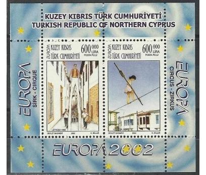 2002 DAMGASIZ KIBRIS CEPT BLOKU