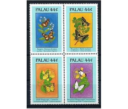 PALAU ADALARI ** 1988 KELEBEKLER TAM SERİ SÜPER