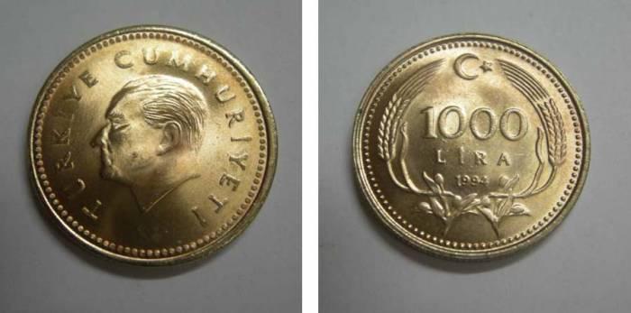 D&K-1990 YILI 1000 LİRA ÇİL. 1
