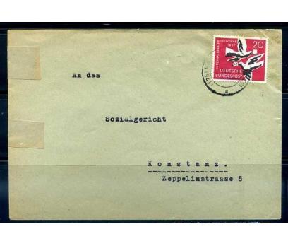ALMANYA 1957 MİC.276 KLASİK TEK PULLA PGZ(YZ-1)