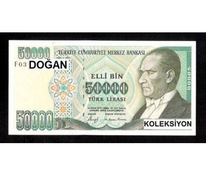 D&K-7. EMİSYON  50.000 LİRA SERİ F03 ÇİL