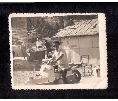 D&K-- BAL KANTİNİ ÖNÜNDE MOTOSİKLETLİ GENÇ