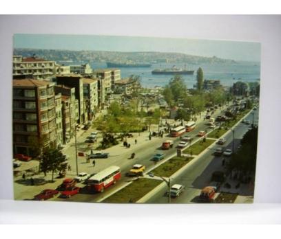 D&K- İSTANBUL BEŞİKTAŞ BARBAROS BUL. KARTPOSTAL