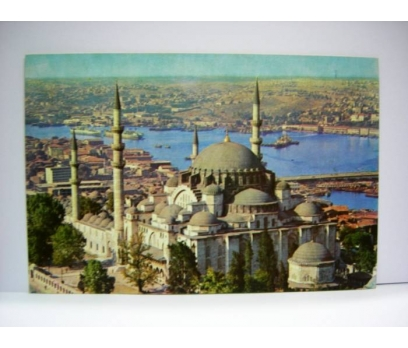 D&K- İSTANBUL SÜLEYMANİYE CAMİ KARTPOSTAL (1)