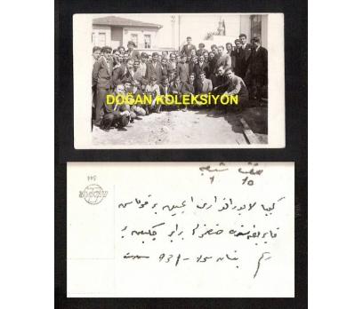 D&K- ÖĞRENCİLER OKUL ÖNÜNDE 1931 FOTOGRAF