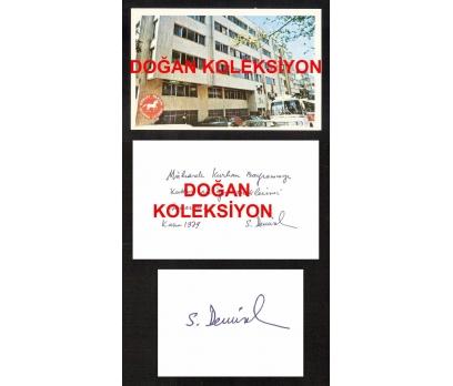 D&K- SÜLEYMAN DEMİREL İMZALI BAYRAM KARTI