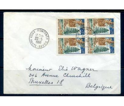 FRANSA 1968 ORMAN KONULU DBL PULLA PGZ SÜPER(YZ-1)