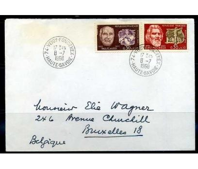 FRANSA1968 ÜNLÜLER KONULU TAM SERİ PULLA PGZ(YZ-1)