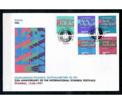CUMH.FDC 1997 U.İSTANBUL FESTİVALİ 25.YIL SÜPER